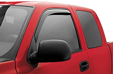 Auto Ventshade 94068 Original Ventvisor Side Window Deflector Dark Smoke 4-Piece Set for 2008-2012 Chevrolet Malibu