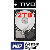 2TB Internal Replacement DVR Hard Drive For TiVo HD Series 3 TCD652160 DVRs. +2700 Hours Recording Capacity!