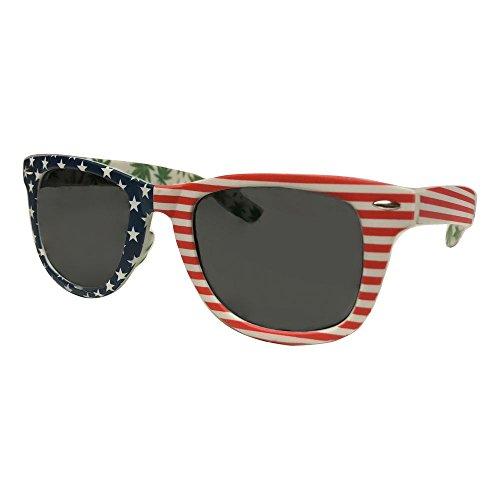 USA-American-Flag-Sunglasses-with-Marijuana-Leaves
