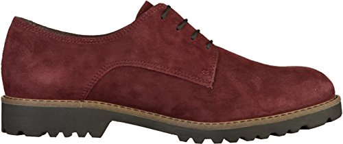 23204 Donna Tamaris Stringate Scarpe Rot Bordeaux Oxford 14nSdqw