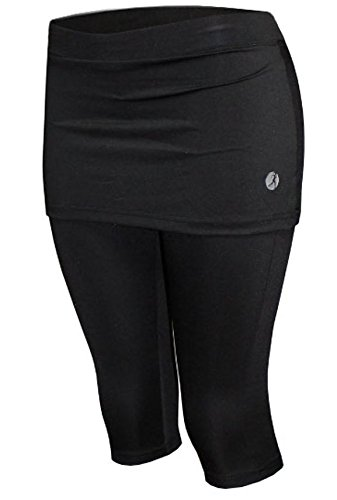 Necessity Skirt with Legging Attached (Skort Run Small) Black and Bright Colors