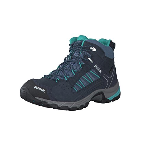 Journey Mid 8 Navy Lady Meindl Turquoise Shoes GTX Walking UK FcAqva