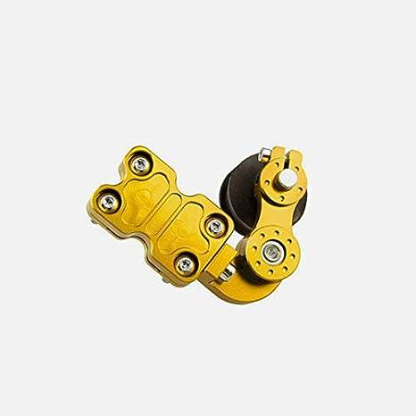 Portable Motorrad Golden Aluminium Adjuster Kettenspanner Bolzen auf Roller Tool Zantec