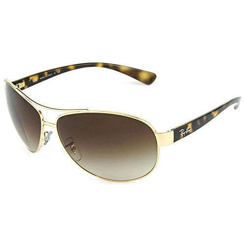 bb09844d7c Ray-Ban Sunglasses - RB3386   Frame  Gold Lens  Brown Gradient (63mm) - Buy  Online in UAE.