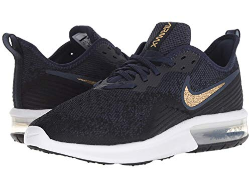 mtlc obsidian Air Gold Sequent Nero Scarpe black Donna white Da 003 obsidian 4 Running Max Nike a6qTdwgvw