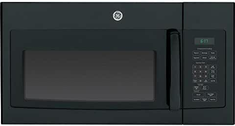 GE JVM6172DFBB 1.7 Cu. Ft. Black Over-the-Range Microwave