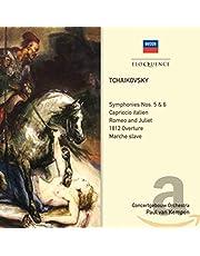 Paul / Concertgebouw Or Van Kempen - Tchaikovsky: Symphonies 5,6 Tone Po