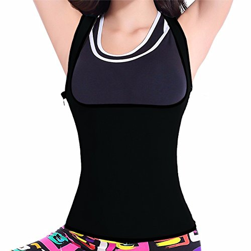 CROSS1946 Neoprene Slimming Vest Shapewear Corset Women Sauna Body Shapers Enhancing Shirt - Weight Loss Wrap - Stomach Fat Burner 2XL