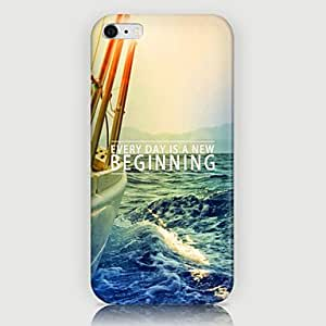 LCJ Waterscape Pattern Back Case for iPhone 6