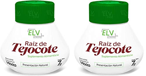 Nutraholics Original ELV Tejocote Root Treatment – 2 Bottles (6 Month Treatment) – Most Popular, All-Natural Weight Loss…