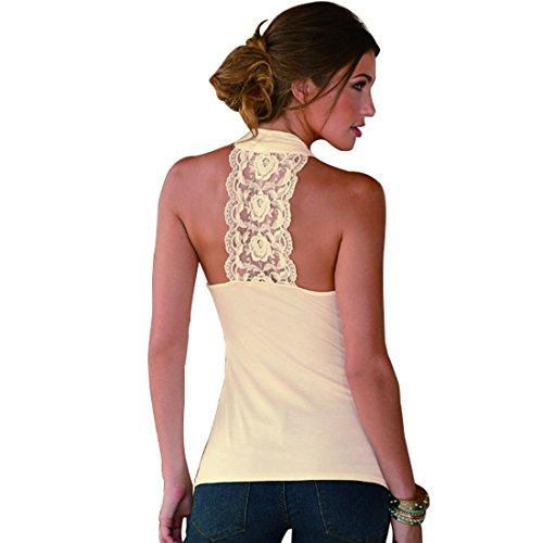Impunture Albicocca con Sottile Cotone Donna Donna con Maglietta Aiweijia Maglietta V Donna Scollo da Maglietta Camicia di Intima a da Lacci e Camicia Camicia da con pqWWZ4x6