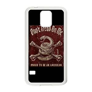 High Quality Don't Tread On Me Gadsden Flag phone case cover for samsung galaxy S5 I9600 case TSL214656