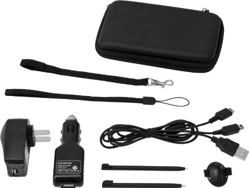 (DS/DSi Supreme 8 in 1 Accessory Kit - Black)