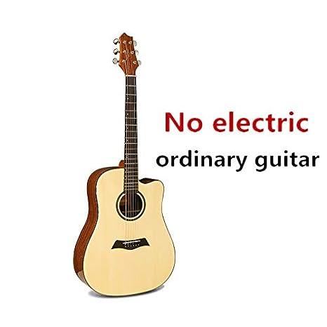 Guitarra de cuerpo en D, de 41 pulgadas, con 6 cuerdas, guitarra ...