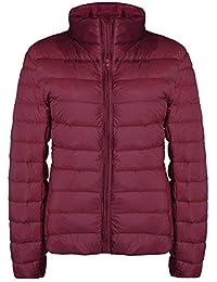 Lightweight Down Jacket,Women's Short Packable Ultra Down Jacket