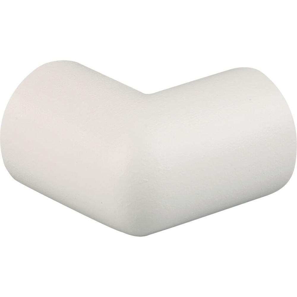 knuffi Color: Blanco - Esquina, tipo A, 2 de Dimensional, autoadhesivo, color blanco, espuma de poliuretano de plástico: Amazon.es: Industria, ...