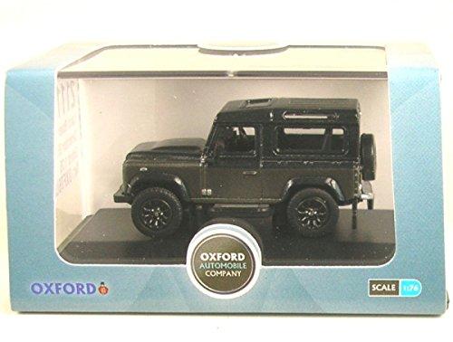 Defender 90 Land Rover (Land Rover Defender 90, grey/dark grey, RHD, 0, Model Car, Ready-made, Oxford 1:76)