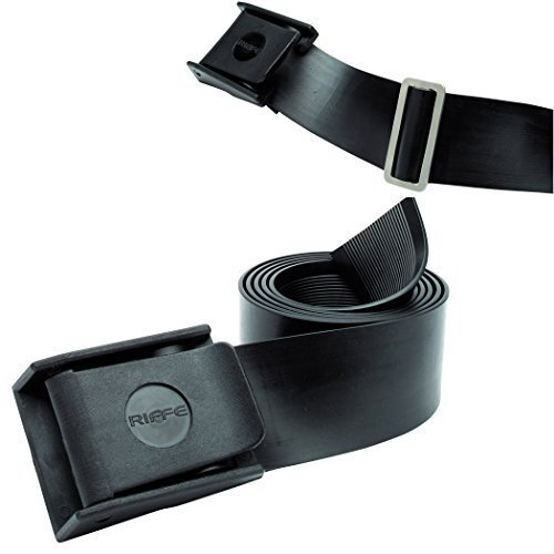 Riffe Rubber Weight Belt with Buckle for Freediving and Spearfishing ()