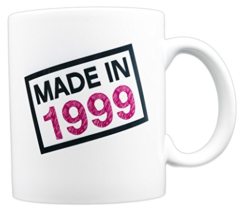 EverMug Made in 1999 - 19th Birthday Gift Mug - 11 oz. White Coffee Mug