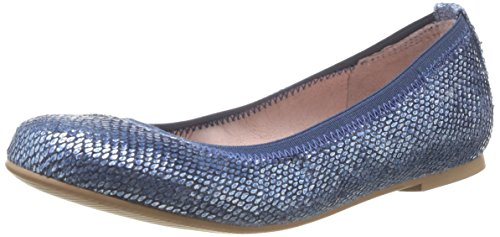 Garvalin 152702 - Bailarinas de material sintético para niña azul - Blau (A-AZUL MARINO (VIBORA))