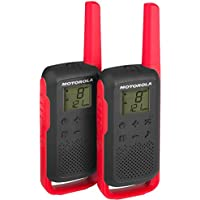motorola Talk About T6Talkie-walkie PMR (PMR446, 16canaux et 121Codes, portée 8km)