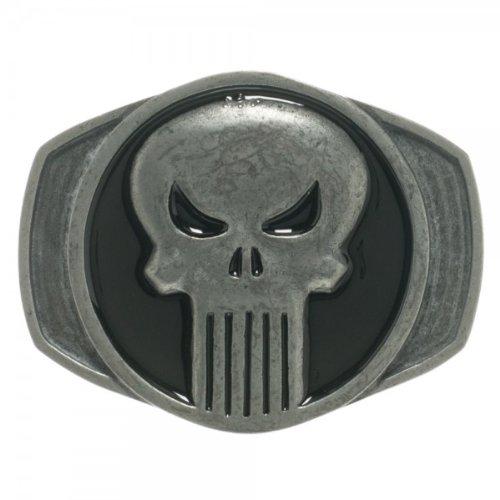 Marvel Comics Logo Belt Buckle (Punisher)