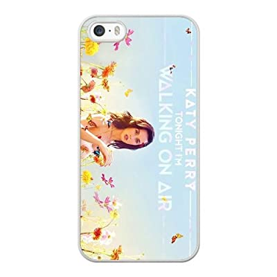 Generic Katy Perry Tonight Cover Case for Apple iPhone 5/5S/SE White Printed Cell Phone Case KLN50444