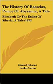 a review of the history of rasselas prince of abyssinia Find great deals for oxford world's classics: the history of rasselas : prince of abissinia by samuel johnson (1999, uk-paperback) shop with confidence on ebay.