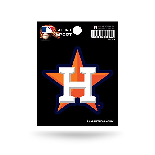 MLB Houston Astros Short Sport (Houston Astros Die Cut Decal)