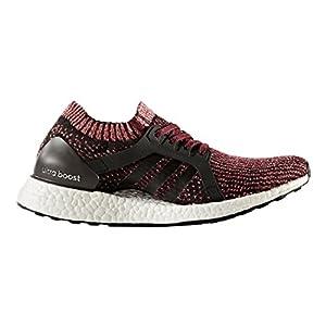 adidas Performance Women's Ultraboost X Running Shoe, Black/Black/Mystery Ruby, 7.5 Medium US