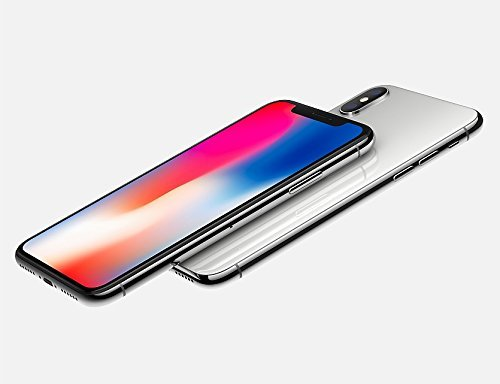 Apple iPhone X 64GB, Silver (Refurbished)