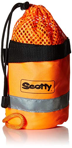 Bag Rope Throw - Scotty #793 Throw Bag w/ 50-Feet of Floating MFP Line