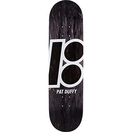 Plan B Duffy Stained Skateboard Deck -8.3 Black - Assembled AS Complete Skateboard