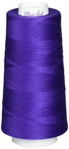American & Efird Maxi-Lock Cone Thread 3000 Yards-Purple
