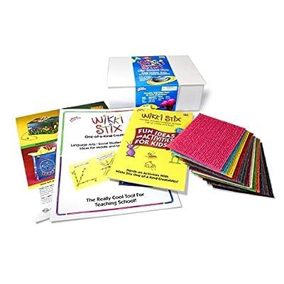WikkiStix Gran Caja de Contar con: Juguetes y juegos