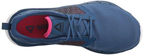 0 Bajos Para amp; Medios Reebok Correr Patent Mujeres Run Print twisted Talla Zapatos 3 Nxt Cordon Shoe Blue bunker SSIP04Y
