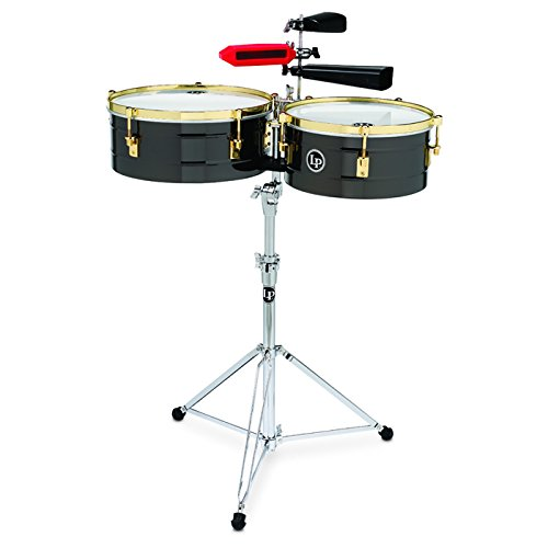 - LP Arena 14 in. and 16 in. Fausto Cuevas III Signature Timbales