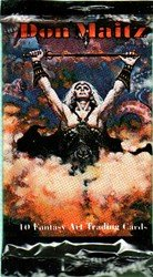 Don Maitz Fantasy Art Factory Sealed Trading Card Pack