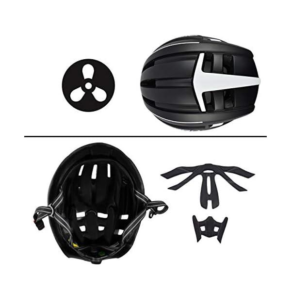 DIRIDERO Casco Bici Luce LED, Certificato CE, Casco con Visiera Magnetica Staccabile, Casco da Bici Super Leggero, Casco Integrale, MTB e Bicicletta Skateboarding Sci & Snowboard per Adulti 2 spesavip