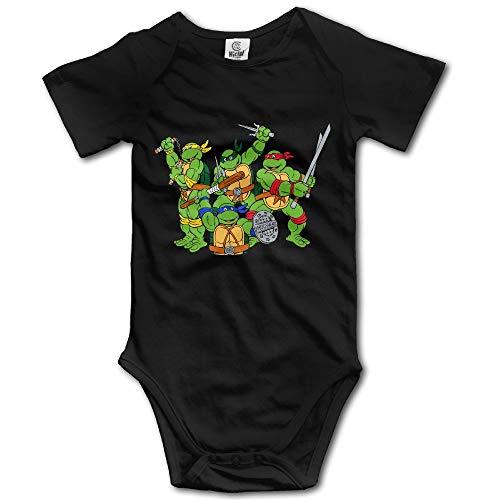 Teenage Mutant Ninja Turtles Baby Onesie Black]()