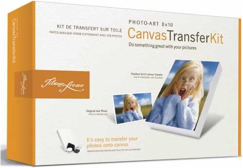 Tilano Fresco Photo Canvas Transfer Kit 801