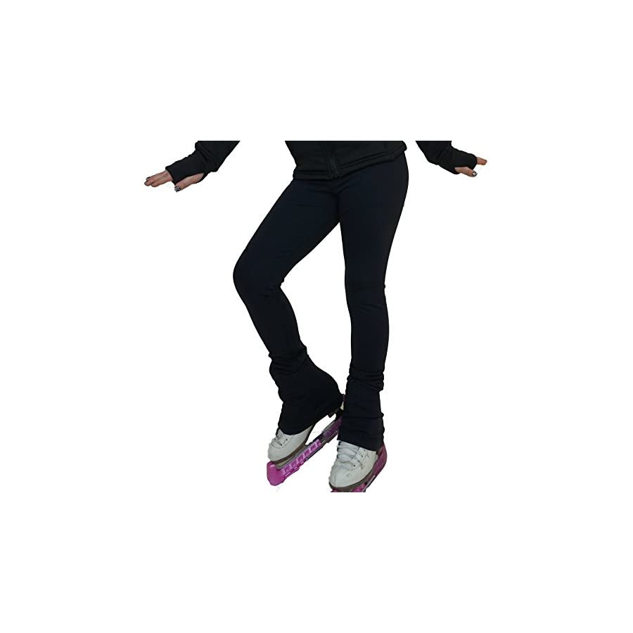 Victoria's Challenge Black ice Skating Leggings Skate Pants Polartec/Thermal / Compression VCSP17