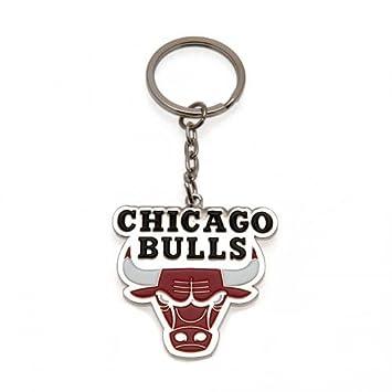 Llavero Chicago Bulls - con el escudo del metal Llavero - aprox 45 ...