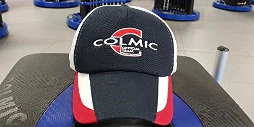 COLMIC SPORTSWEAR BLUE WHITE MESH BASEBALL CAP HAT HEADGEAR FISHING ACCESSORY by Colmic