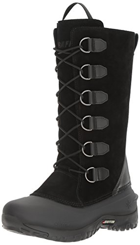 Baffin Womens Coco Insulated Suede Winter Boot Black
