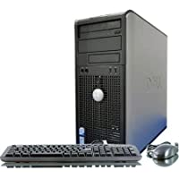 Dell Optiplex 780 MiniTower PC - Intel Core 2 Duo E7600 3.0GHz 4GB 250GB DVDRW Windows Pro (Certified Refurbished)