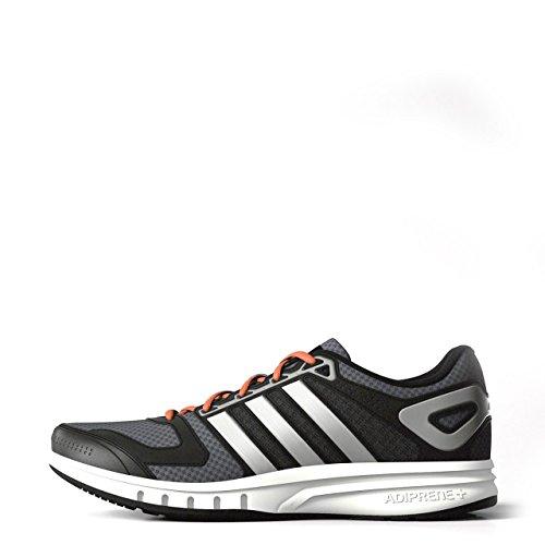 De Adidas Chaussures Running M Galaxy argent Homme noir Gris wqqrBtz