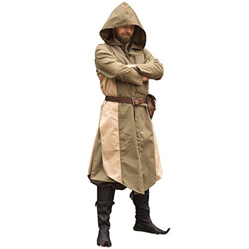 [Armor Venue: Altair Assassins Vest Dryad Green/Desert Beige XX-Large/XXX-Large] (Kid Sized Assassins Creed Costume)