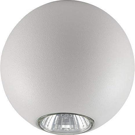 Plafón redondo/halógena/lámpara de techo retro/bombilla bola ...
