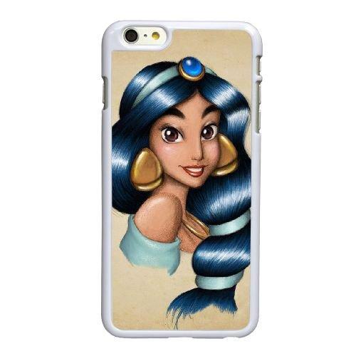X4V95 Jasmine U3H9BT coque iPhone 6 Plus de 5,5 pouces cas de couverture de téléphone portable coque blanche IH6VXD3MG